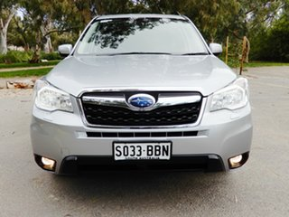 2014 Subaru Forester S4 MY14 2.5i-S Lineartronic AWD Ice Silver 6 Speed Constant Variable Wagon.