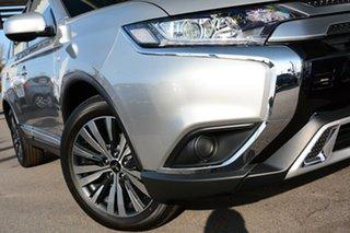 2019 Mitsubishi Outlander ZL MY20 ES 2WD ADAS Sterling Silver 6 Speed Constant Variable Wagon.