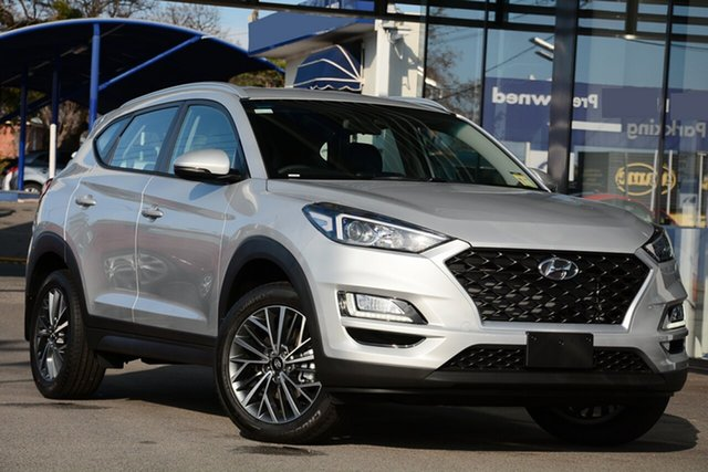 New Hyundai Tucson TL4 MY20 Active X (2WD) Black INT, 2020 Hyundai Tucson TL4 MY20 Active X (2WD) Black INT Platinum Silver 6 Speed Automatic Wagon