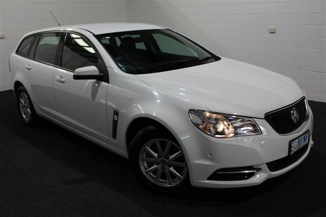 Used Holden Commodore VF MY15 Evoke Sportwagon, 2015 Holden Commodore VF MY15 Evoke Sportwagon Heron White 6 Speed Sports Automatic Wagon