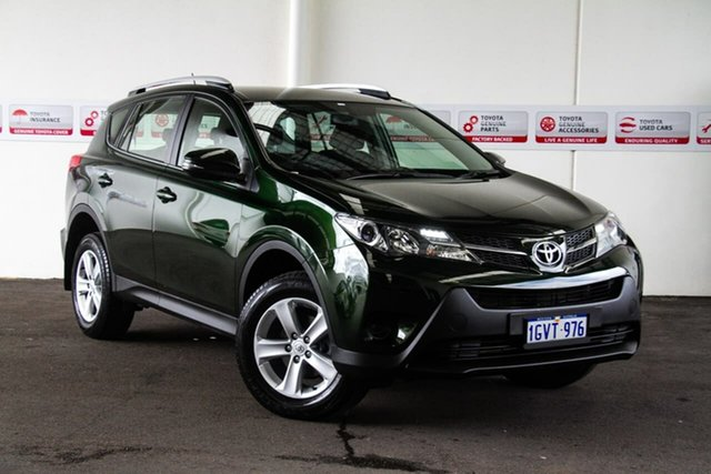 Used Toyota RAV4 ZSA42R GX (2WD), 2013 Toyota RAV4 ZSA42R GX (2WD) Dark Green Continuous Variable Wagon