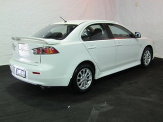 2012 Mitsubishi Lancer CJ MY12 Activ White 5 Speed Manual Sedan