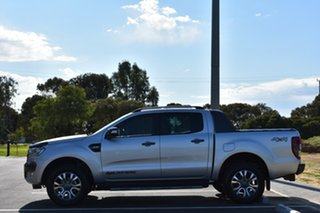 2018 Ford Ranger PX MkIII 2019.00MY Wildtrak Pick-up Double Cab Silver 10 Speed Sports Automatic