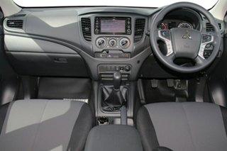 2018 Mitsubishi Triton MR MY19 GLX Double Cab ADAS White 6 Speed Manual Utility