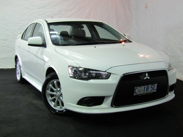 Used Mitsubishi Lancer CJ MY12 Activ, 2012 Mitsubishi Lancer CJ MY12 Activ White 5 Speed Manual Sedan
