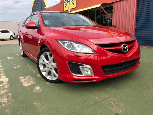 Used Mazda 6 GH1051 Luxury Sports, 2008 Mazda 6 GH1051 Luxury Sports 5 Speed Sports Automatic Hatchback