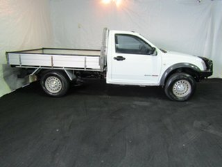 2003 Holden Rodeo TF MY02 LX White 5 Speed Manual Cab Chassis.