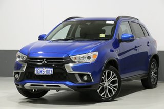 2018 Mitsubishi ASX XC MY18 LS ADAS (2WD) Lightning Blue Continuous Variable Wagon.