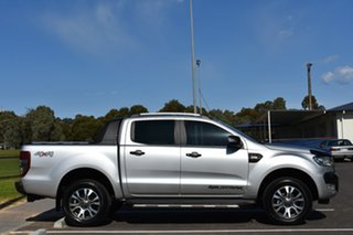 2018 Ford Ranger PX MkIII 2019.00MY Wildtrak Pick-up Double Cab Silver 10 Speed Sports Automatic.