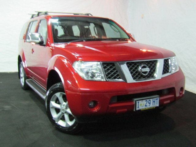 Used Nissan Pathfinder R51 MY08 ST-L, 2008 Nissan Pathfinder R51 MY08 ST-L Red 6 Speed Manual Wagon