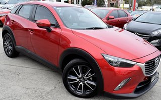2017 Mazda CX-3 DK2W7A sTouring SKYACTIV-Drive Red/Black 6 Speed Sports Automatic Wagon.