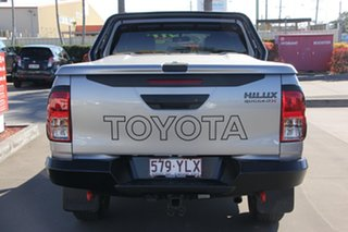 2018 Toyota Hilux GUN126R Rugged X Double Cab Silver Sky 6 Speed Sports Automatic Utility