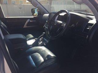 2015 Toyota Landcruiser VDJ200R MY16 Sahara (4x4) Silver Pearl 6 Speed Automatic Wagon