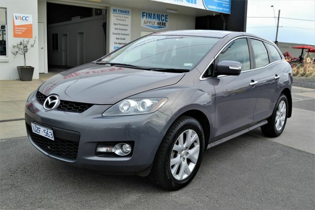 Used Mazda CX-7 ER Luxury (4x4), 2007 Mazda CX-7 ER Luxury (4x4) Silver 6 Speed Auto Activematic Wagon