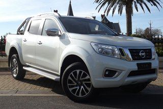 2018 Nissan Navara D23 S3 ST-X White Diamond 6 Speed Manual Utility