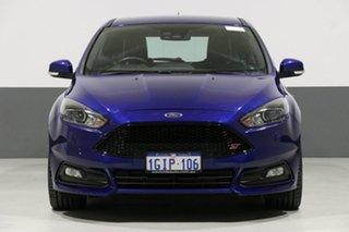 2017 Ford Focus LZ ST2 Blue 6 Speed Manual Hatchback.