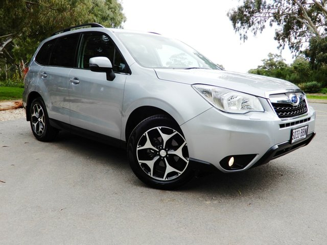 Used Subaru Forester S4 MY14 2.5i-S Lineartronic AWD, 2014 Subaru Forester S4 MY14 2.5i-S Lineartronic AWD Ice Silver 6 Speed Constant Variable Wagon