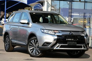 2019 Mitsubishi Outlander ZL MY20 ES 2WD ADAS Sterling Silver 6 Speed Constant Variable Wagon.