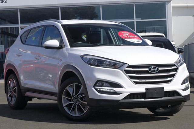 Used Hyundai Tucson TL Active X 2WD, 2016 Hyundai Tucson TL Active X 2WD Pure White 6 Speed Sports Automatic Wagon