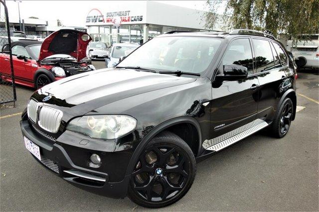 Used BMW X5 E70 MY10 xDrive35d Steptronic, 2009 BMW X5 E70 MY10 xDrive35d Steptronic Black 6 Speed Sports Automatic Wagon