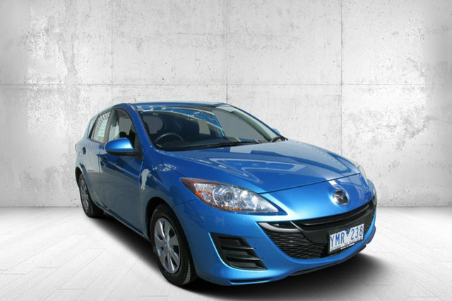 Used Mazda 3 BL10F1 MY10 Neo, 2011 Mazda 3 BL10F1 MY10 Neo Celestial Black 6 Speed Manual Hatchback