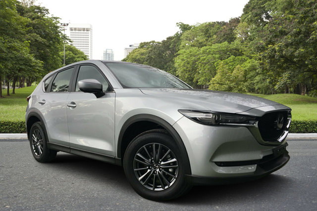 Used Mazda CX-5 KF2W7A Maxx SKYACTIV-Drive FWD Sport, 2018 Mazda CX-5 KF2W7A Maxx SKYACTIV-Drive FWD Sport Silver 6 Speed Sports Automatic Wagon