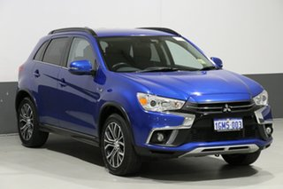 2018 Mitsubishi ASX XC MY18 LS ADAS (2WD) Lightning Blue Continuous Variable Wagon