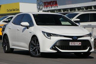 2018 Toyota Corolla Mzea12R ZR Glacier White 10 Speed Constant Variable Hatchback.