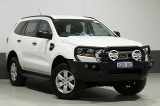 2016 Ford Everest UA Ambiente White 6 Speed Automatic Wagon.