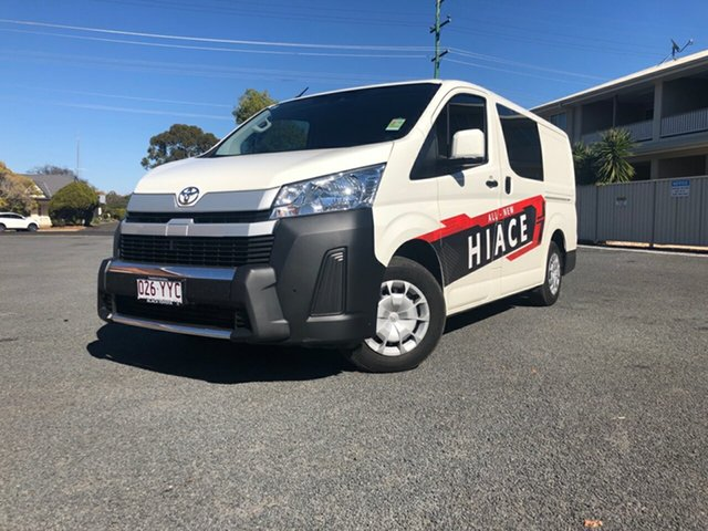 Demo Toyota HiAce GDH300R LWB, 2019 Toyota HiAce GDH300R LWB French Vanilla 6 Speed Sports Automatic Van