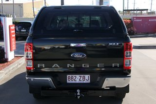 2011 Ford Ranger PX XLT Double Cab Black 6 Speed Sports Automatic Utility