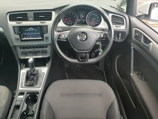 2014 Volkswagen Golf VII MY14 90TSI DSG Comfortline White 7 Speed Sports Automatic Dual Clutch