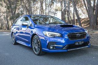 2018 Subaru Levorg V1 MY19 2.0 STI Sport CVT AWD WR Blue Mica 8 Speed Constant Variable Wagon.