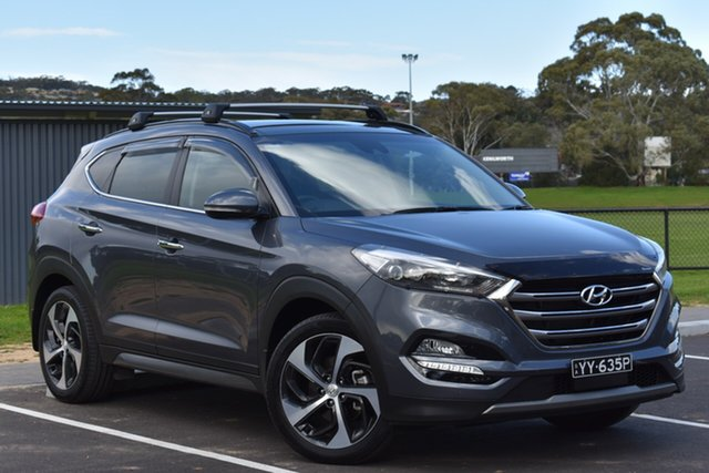 Used Hyundai Tucson TLE Highlander AWD, 2016 Hyundai Tucson TLE Highlander AWD Grey 6 Speed Sports Automatic Wagon