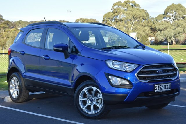 Used Ford Ecosport BL 2018.75MY Trend, 2018 Ford Ecosport BL 2018.75MY Trend Blue Lightning 6 Speed Automatic Wagon