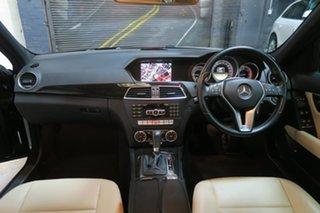 2011 Mercedes-Benz C250 CDI W204 MY11 BlueEFFICIENCY 7G-Tronic Avantgarde Black 7 Speed.