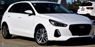 2018 Hyundai i30 PD2 MY18 Active White 6 Speed Sports Automatic Hatchback.