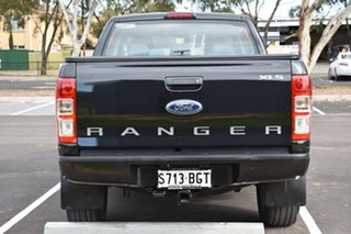 2015 Ford Ranger PX XLS Double Cab Black 6 Speed Sports Automatic Utility
