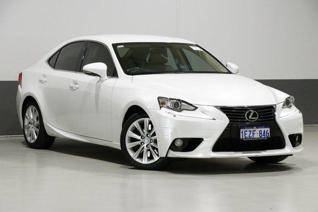 Used Lexus IS350 GSE31R Luxury, 2013 Lexus IS350 GSE31R Luxury White 8 Speed Automatic Sedan