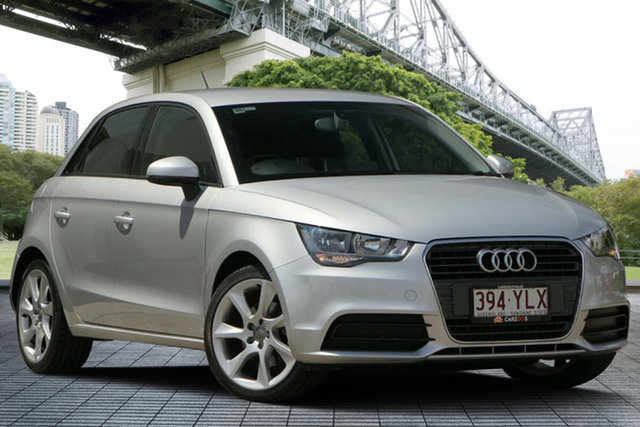 Used Audi A1 8X MY13 Attraction Sportback S Tronic, 2012 Audi A1 8X MY13 Attraction Sportback S Tronic Silver 7 Speed Sports Automatic Dual Clutch