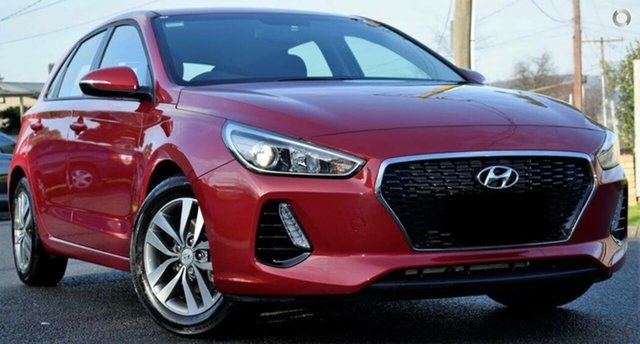 Used Hyundai i30 PD2 MY18 Active, 2018 Hyundai i30 PD2 MY18 Active Red/Black 6 Speed Sports Automatic Hatchback