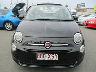 2015 Fiat 500C Series 4 POP Black 5 Speed Manual Convertible