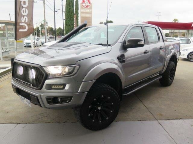 Used Ford Ranger PX MkII XLT Double Cab, 2016 Ford Ranger PX MkII XLT Double Cab Chrome 6 Speed Sports Automatic Utility