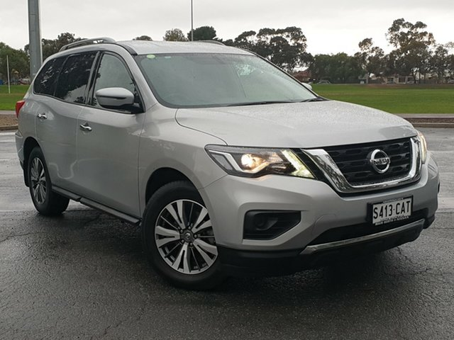 Used Nissan Pathfinder R52 Series II MY17 ST X-tronic 2WD, 2017 Nissan Pathfinder R52 Series II MY17 ST X-tronic 2WD Silver 1 Speed Constant Variable Wagon