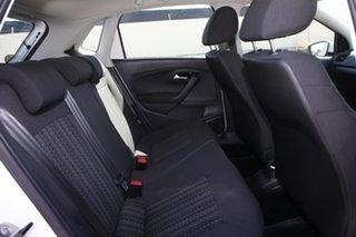 2014 Volkswagen Polo 6R MY15 66TSI Trendline White 5 Speed Manual Hatchback