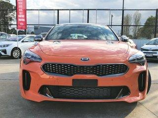2019 Kia Stinger CK MY20 GT Fastback Neon Orange 8 Speed Sports Automatic Sedan.