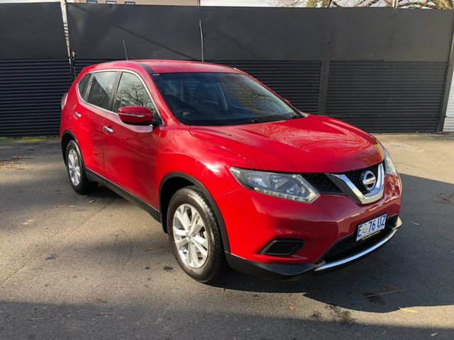 Used Nissan X-Trail T32 ST X-tronic 2WD, 2015 Nissan X-Trail T32 ST X-tronic 2WD Red 7 Speed Constant Variable Wagon