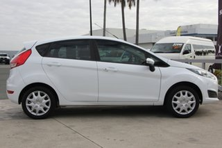 2014 Ford Fiesta WZ Ambiente PwrShift White 6 Speed Sports Automatic Dual Clutch Hatchback.