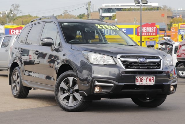 Used Subaru Forester S4 MY18 2.5i-L CVT AWD, 2017 Subaru Forester S4 MY18 2.5i-L CVT AWD Grey 6 Speed Constant Variable Wagon