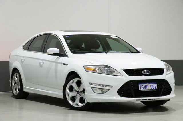 Used Ford Mondeo MC Titanium, 2012 Ford Mondeo MC Titanium White 6 Speed Automatic Hatchback